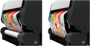 Canon imagePROGRAF TX system dual feed