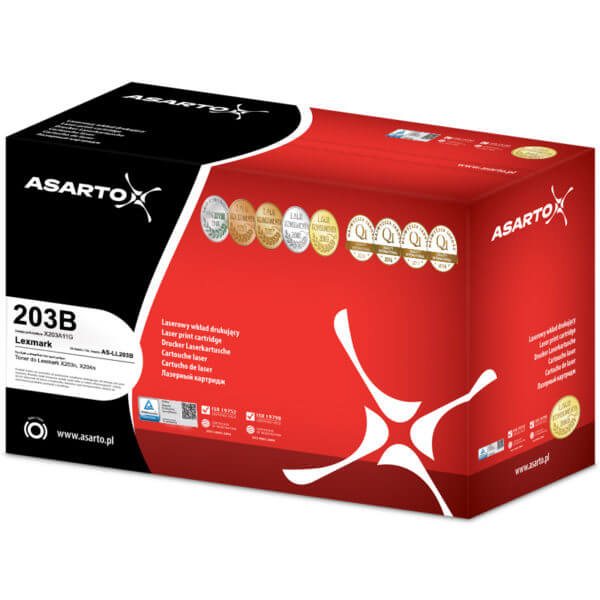 AS-LL203B Asarto toner black