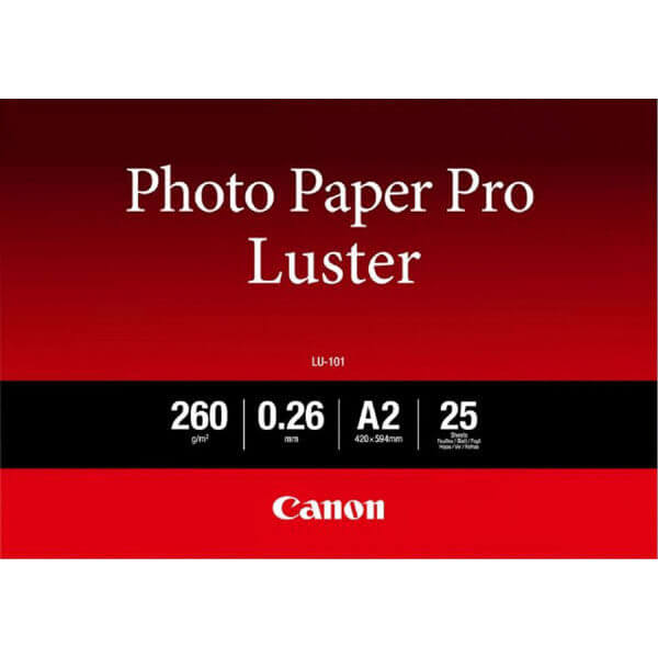 Canon LU-101 A2 Papier fotograficzny Pro Luster