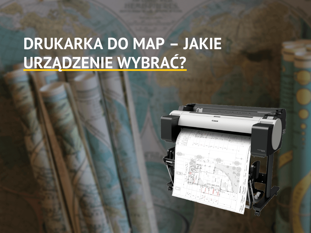 Drukarka do map