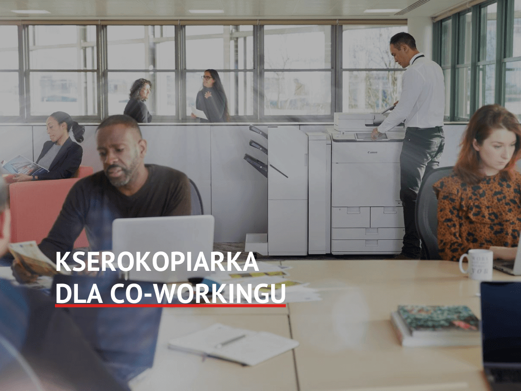 Kserokopiarka dla co-workingu